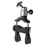 Perfeo-301 Держатель для фото/видео камер/ на руль велосипеда или штангу/ металл/ черный+серебр.
