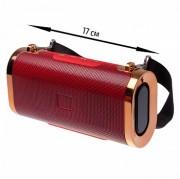 Блютуз-колонка JB ET803 SD micro+USB+micro USB+FM+Bluetooth, красный