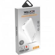 Внешний аккумулятор Walker WB-305, 5000 mAh, Li-Pol, USBx2, microUSB, Type-C, пластик, белый
