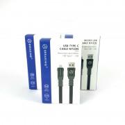 Breaking кабель Micro USB Nylon, 2.4A, длина 1м (21421), синий