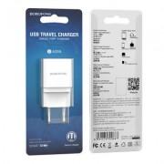 СЗУ USB Borofone BA19A  1A, белый