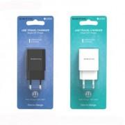 СЗУ USB Borofone BA20A  1USB, 2.1A, черный
