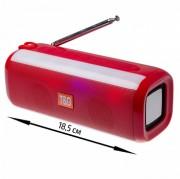 Блютуз-колонка TG144 SD micro+USB+micro USB+AUX+FM+Bluetooth, красный