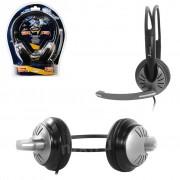 Полноразмерная стерео гарнитура SmartBuy® FIGHTER, рег.громкости, кабель 2.5м (SBH-7500