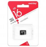 Micro SD 16GB Smartbuy (Class 10) без адаптера LE (SB16GBSDCL10-00LE)