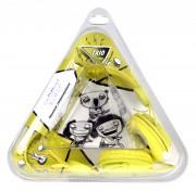 Полноразмерные наушники SmartBuy® TRIO, желтые (SBE-9120)