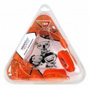 Полноразмерные наушники SmartBuy® TRIO, оранжевые (SBE-9110)