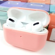 Чехол для кейса AirPods Pro Silicone Case, Pink