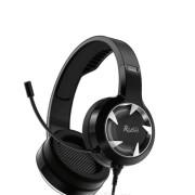 Игровая гарнитура RUSH MACE, динамики 40мм, гибкий микрофон,  черный