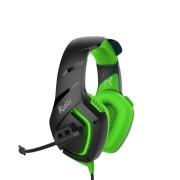 Игровая гарнитура RUSH SKYTHE, динамики 50мм, гибкий микрофон,  зеленый