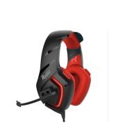 Игровая гарнитура RUSH SKYTHE, динамики 50мм, гибкий микрофон,  красный