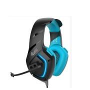 Игровая гарнитура RUSH SKYTHE, динамики 50мм, гибкий микрофон,  синий