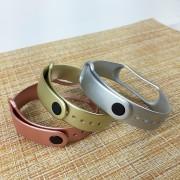 Ремешок для часов Xiaomi MI Band 4, New Silicone, перламутровый, золотой