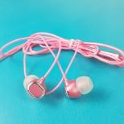 MP3 наушники Bass Z8, вакуумные, розовый