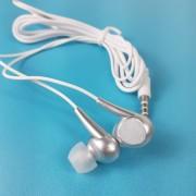 MP3 наушники Bass ZN999, вакуумные, белый