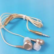MP3 наушники Bass ZN999, вакуумные, золотой