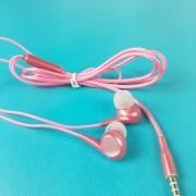 MP3 наушники Bass ZN999, вакуумные, розовый