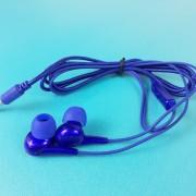 MP3 наушники Bass ZN999, вакуумные, синий