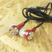 MP3 наушники HS-105, красный