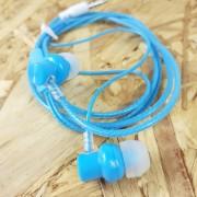 MP3 наушники Earphone X06 вакуумные, синий