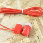 MP3 наушники Earphone X04 вакуумные, красный
