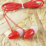 MP3 наушники Earphone X03 вакуумные, красный