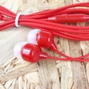 MP3 наушники Earphone X01 вакуумные, красный