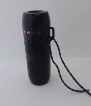 Блютуз-колонка J18, Micro SD+Micro USB+AUX+FM, с фонарём, черная JB