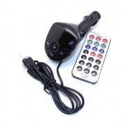 Автомобильный FM модулятор FM-S10 USB/microSD/дисплей/пульт управления
