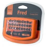 Perfeo отвертка Fred с набором бит (насадок) 31 в 1 (PF_A4876)